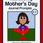 Mother's Day Mathbooking - Math Journal Prompts (kinder an