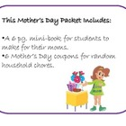Mother's Day Mini Book and Coupons