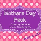 Mother&#039;s Day Pack {{Math &amp; Literacy}}