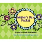 Mother&#039;s Day Packet Craftivity