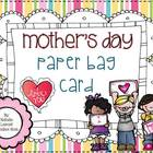 Mother's Day Paper Bag Card