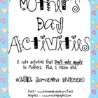 Mother's Day Poem Craftivities