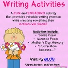 Mother's Day Poetry Activities