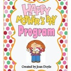 Mother's Day Recognition Program