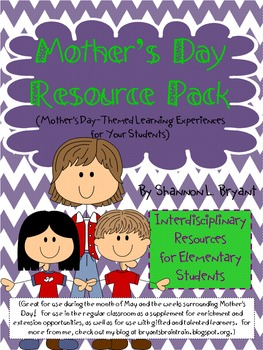 Mother's Day Resource Pack
