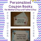 Mother&#039;s Day and Father&#039;s Day Coupon Books {Bundle}