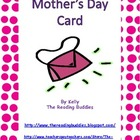 Mother&#039;s Day pocketbook card