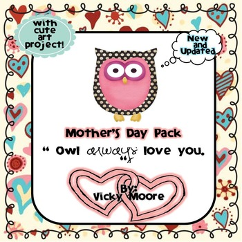 Mother's Day unit and fun pack