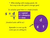 Motion, Speed, Newton's Laws of Motion, Force, and Momentum