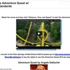 Motion and Force Adventure Quest w/ Common Core Standards
