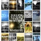 Motivational ABCs - Success Mindset Posters/Word Wall