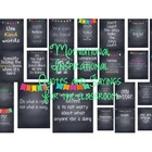 Motivational Sayings and Quotes for the classroom
