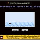 Motorboat Vector Challenge - Mechanics Games and Demos
