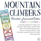 Mountain Climbers: Formative Assessment Posters &amp; Forms
