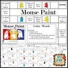 Mouse Paint--Color Word Game