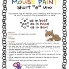 Mouse Paint Short &quot;e&quot; Uno