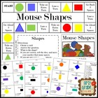 Mouse Shapes--Plane Shapes Game