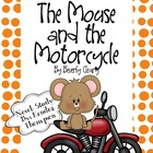 Mouse and the Motorcycle Novel Study
