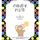 Mousy Math (Adding Multiples of Ten) Math Center