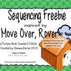 Move Over, Rover by Karen Beaumont Sequencing