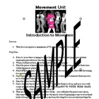 Movement/Dance Unit Introduction