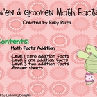 Mov&#039;en &amp; Groov&#039;n Math Facts Addition Level 1-3