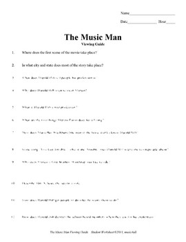 Movie Guide: The Music Man