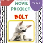 Movie Project: Bolt (15 tasks- Key included) Elementary level