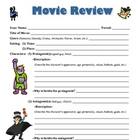 Movie Review - standards-based!