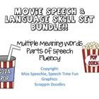 Movie Speech & Language Skills Bundle!