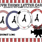 Movie Theme Letter Cards