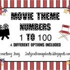 Movie Theme Numbers 1-100