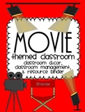 Movie/ Hollywood Themed Classroom {Decor, Classroom Manage