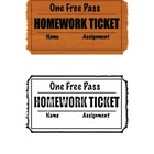 Movie Ticket Homework Pass