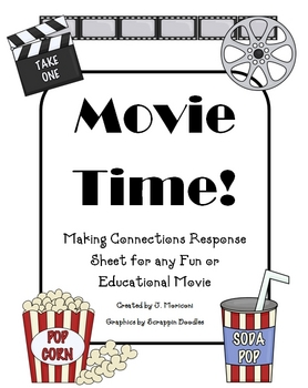 Movie Time Writing Response Sheet