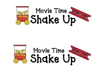 Movietime Shake Up