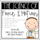 Movin&#039; &amp; Groovin&#039; with Newton {A Science Unit to Explore F