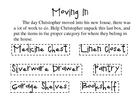 Moving In - A Classifying Activity