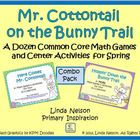 Mr. Cottontail on the Bunny Trail Common Core Math Combo Pack