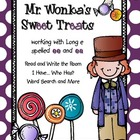Mr. Wonka&#039;s Sweet Treats: Word Work for Long e spelled ee and ea