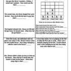 Mrs. Brown Went to Town ~ Math Activity Pages ~ 2nd Grade 