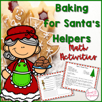 Christmas Math Activities - Mrs. Claus Bakes Christmas Cookies