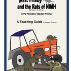 Mrs. Frisby and the Rats of NIMH     A Novel Teaching Pack