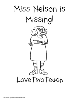 Mrs. Nelson is Missing Literacy and Math Centers