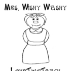 Mrs. Wishy Washy:  Literacy and Math Center Fun