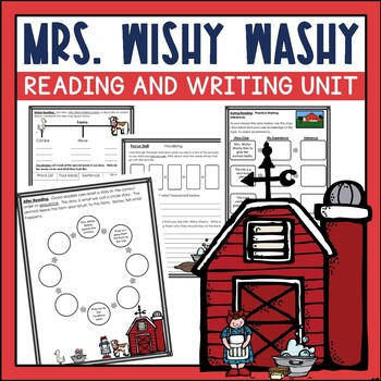 Mrs. Wishy Washy's Farm by Joy Crowley Guided Reading Unit