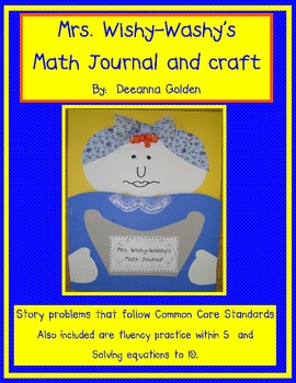 Mrs. Wishy-Washy's Math Journal and Craft