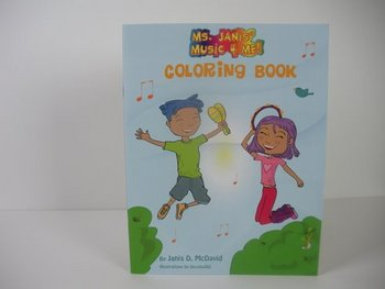 Ms. Janis' Music 4 Me Coloring Book