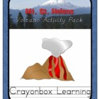 Volcano Activity Pack - Mt. St. Helens Activity Pack - Ear