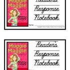 Muggie Maggie, by Beverly Cleary: Reader&#039;s Response Notebook